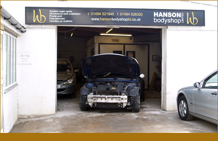 Hansons Bodyshop - High Wycombe and Buckinghamshire bodyshop specialist